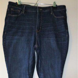 Old Navy Rockstar Super Skinny Jeans, size 18 Long